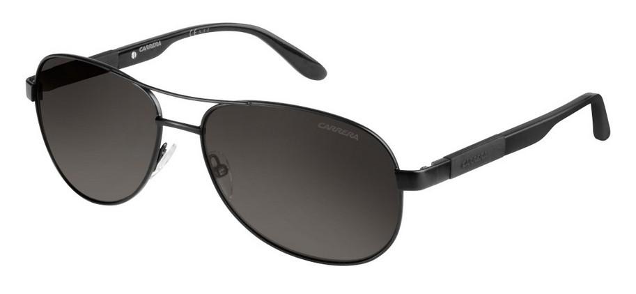 Carrera Eyewear Sonnenbrille » CARRERA 125/S«, schwarz, 6UB/HD - schwarz/grau